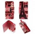 Etui pour iPhone 5 / 5S Folio Pink Paris