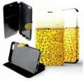 Etui iPhone 6 plus / 6s plus Folio Bière