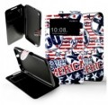 Etui pour HTC Desire 816 Folio USA style