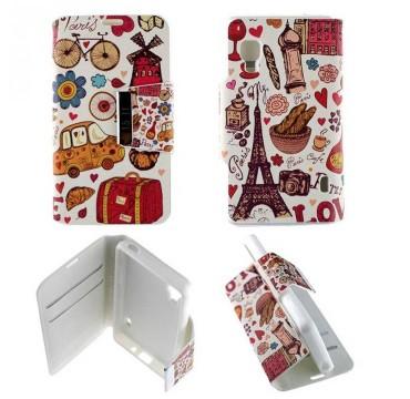 Etui pour LG Optimus L5 II Folio Paris Draw