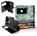 Etui Nokia Lumia 520 Folio Arc en Ciel