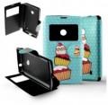 Etui Nokia Lumia 520 Folio Cupcake party