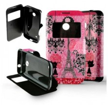 Etui Nokia Lumia 530 Folio Paris Luxe