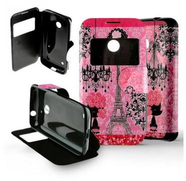 Etui pour Nokia Lumia 530 Folio Paris Luxe