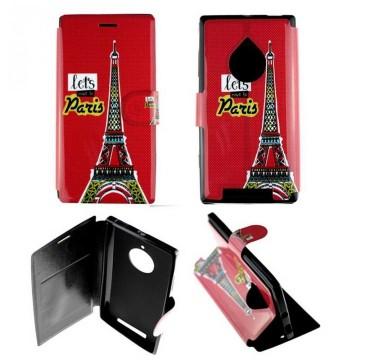 Etui pour Nokia Lumia 830 Folio Let's move Paris