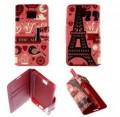 Etui pour Samsung Galaxy Note 3 Neo / Lite Folio Pink Paris