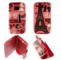 Etui Samsung Galaxy S3 Folio Pink Paris