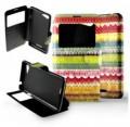 Etui Sony Xperia E2 / E3 Folio Frises colorées