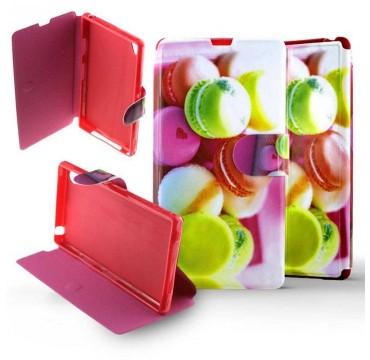 Etui Sony Xperia Z1 Folio Macarons fluo