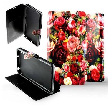 Etui pour Sony Xperia Z2 Folio Bouquet de roses