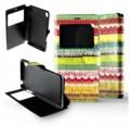 Etui pour Sony Xperia Z3 Folio Frises colorées