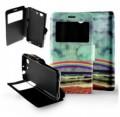 Etui pour Sony Xperia Z3 Compact Folio Arc en Ciel