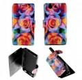 Etui pour Sony Xperia Z3 Compact Folio Floral Art