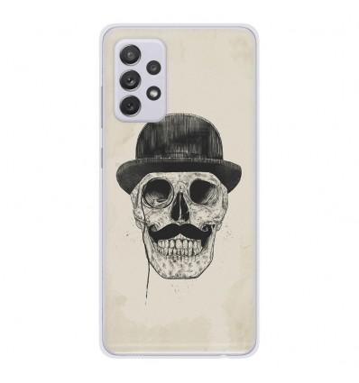 Coque en silicone Samsung Galaxy A52 - BS Class skull