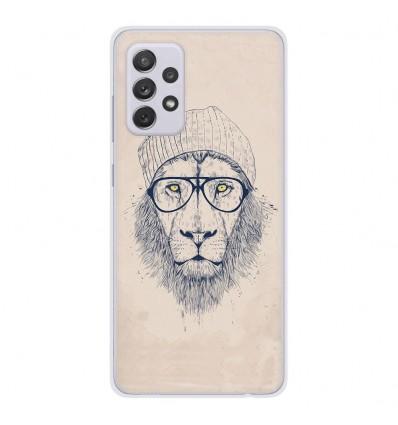 Coque en silicone Samsung Galaxy A52 - BS Cool Lion