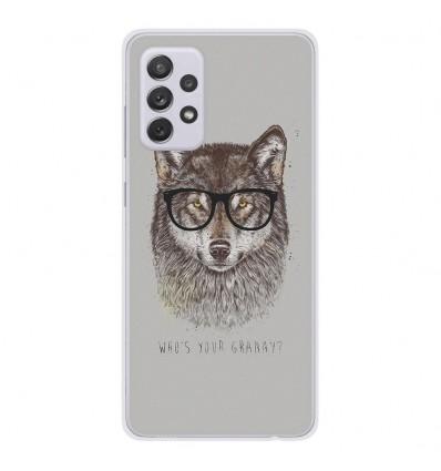 Coque en silicone Samsung Galaxy A52 - BS Granny