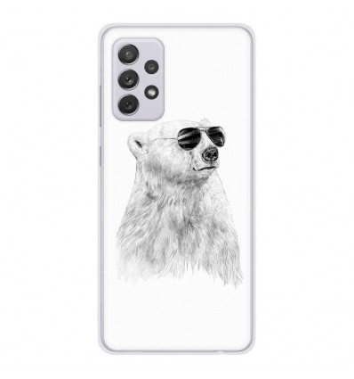Coque en silicone Samsung Galaxy A52 - BS Sunny bear