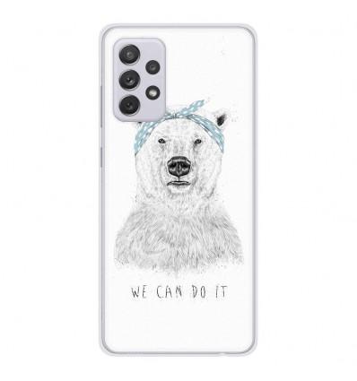 Coque en silicone Samsung Galaxy A52 - BS We can do it