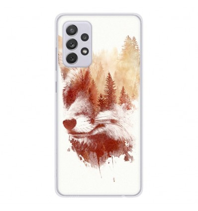 Coque en silicone Samsung Galaxy A52 - RF Blind Fox
