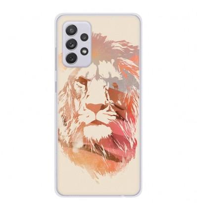 Coque en silicone Samsung Galaxy A52 - RF Desert Lion