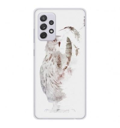 Coque en silicone Samsung Galaxy A52 - RF Fade Out