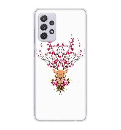 Coque en silicone Samsung Galaxy A52 - RF Spring deer