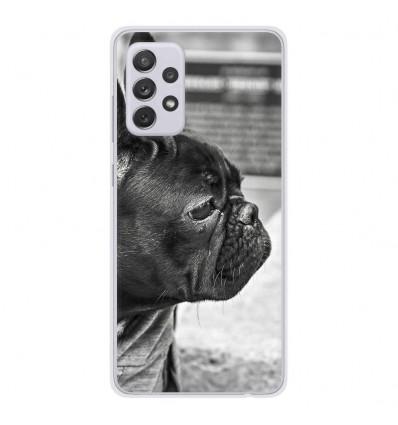 Coque en silicone Samsung Galaxy A52 - Bulldog