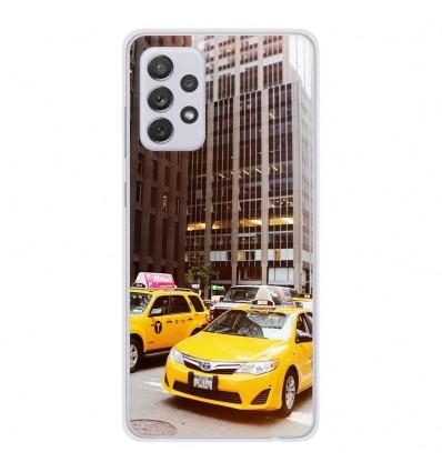Coque en silicone Samsung Galaxy A52 - NY Taxi