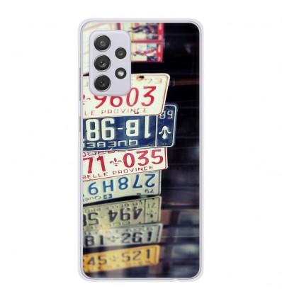 Coque en silicone Samsung Galaxy A52 - Quebec