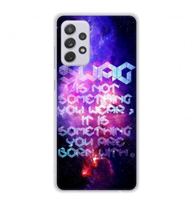 Coque en silicone Samsung Galaxy A52 - Cosmic swag