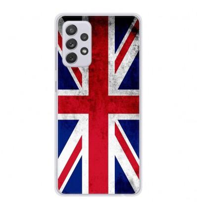 Coque en silicone Samsung Galaxy A52 - Drapeau Angleterre