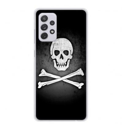 Coque en silicone Samsung Galaxy A52 - Drapeau Pirate