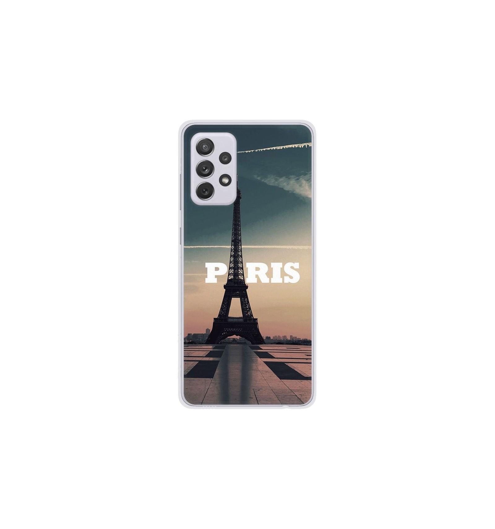 Coque en silicone Samsung Galaxy A52 - Paris