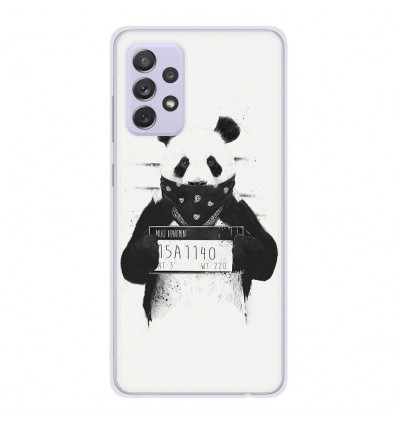 Coque en silicone Samsung Galaxy A72 - BS Bad Panda