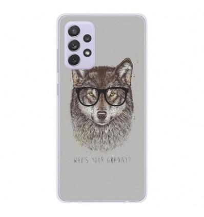 Coque en silicone Samsung Galaxy A72 - BS Granny