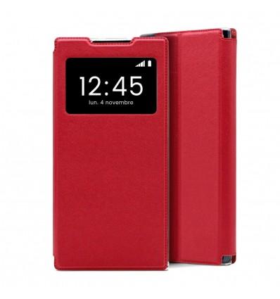Etui Folio Samsung Galaxy A42 5G - Rouge