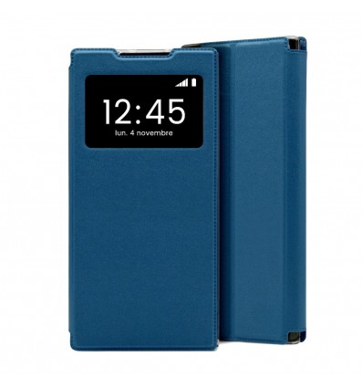 Etui Folio Samsung Galaxy Note 10 Lite - Bleu