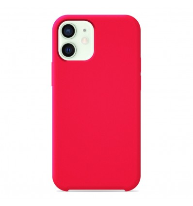 Coque Apple iPhone 12 Mini Silicone Soft Touch - Rose