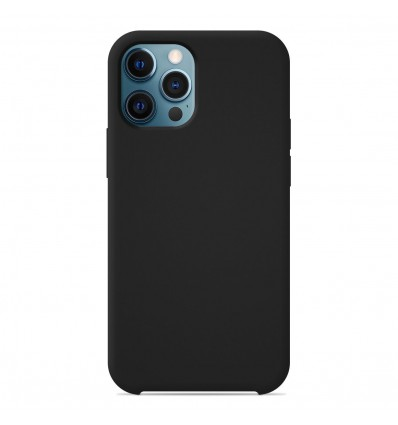 Coque Apple iPhone 12 Pro Max Silicone Soft Touch - Noir
