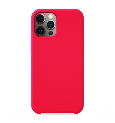 Coque Apple iPhone 12 Pro Silicone Soft Touch - Rose