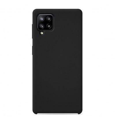 Coque Samsung Galaxy A42 5G Silicone Soft Touch - Noir