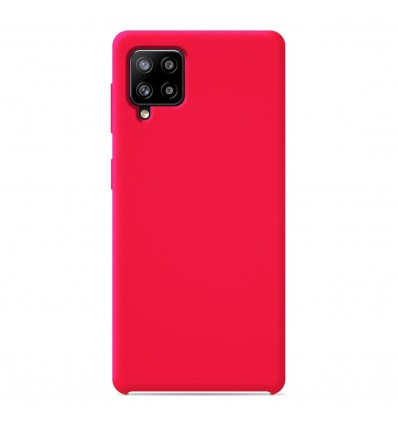Coque Samsung Galaxy A42 5G Silicone Soft Touch - Rose