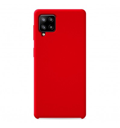 Coque Samsung Galaxy A42 5G Silicone Soft Touch - Rouge
