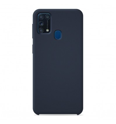 Coque Samsung Galaxy M31S Silicone Soft Touch - Bleu nuit