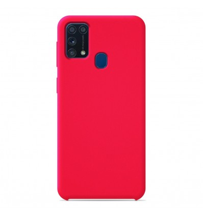 Coque Samsung Galaxy M31S Silicone Soft Touch - Rose