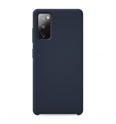 Coque Samsung Galaxy S20 FE Silicone Soft Touch - Bleu nuit
