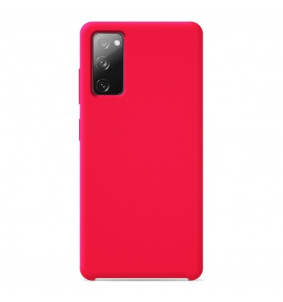 Coque Samsung Galaxy S20 FE Silicone Soft Touch - Rose