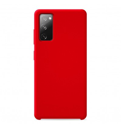 Coque Samsung Galaxy S20 FE Silicone Soft Touch - Rouge