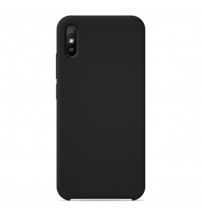 Coque Xiaomi Redmi 9A / 9AT / 9i Silicone Soft Touch - Noir