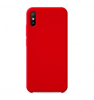 Coque Xiaomi Redmi 9A / 9AT / 9i Silicone Soft Touch - Rouge